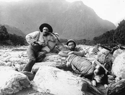 Did Charles Douglas (left) eat the Haast's eagle into extinction?